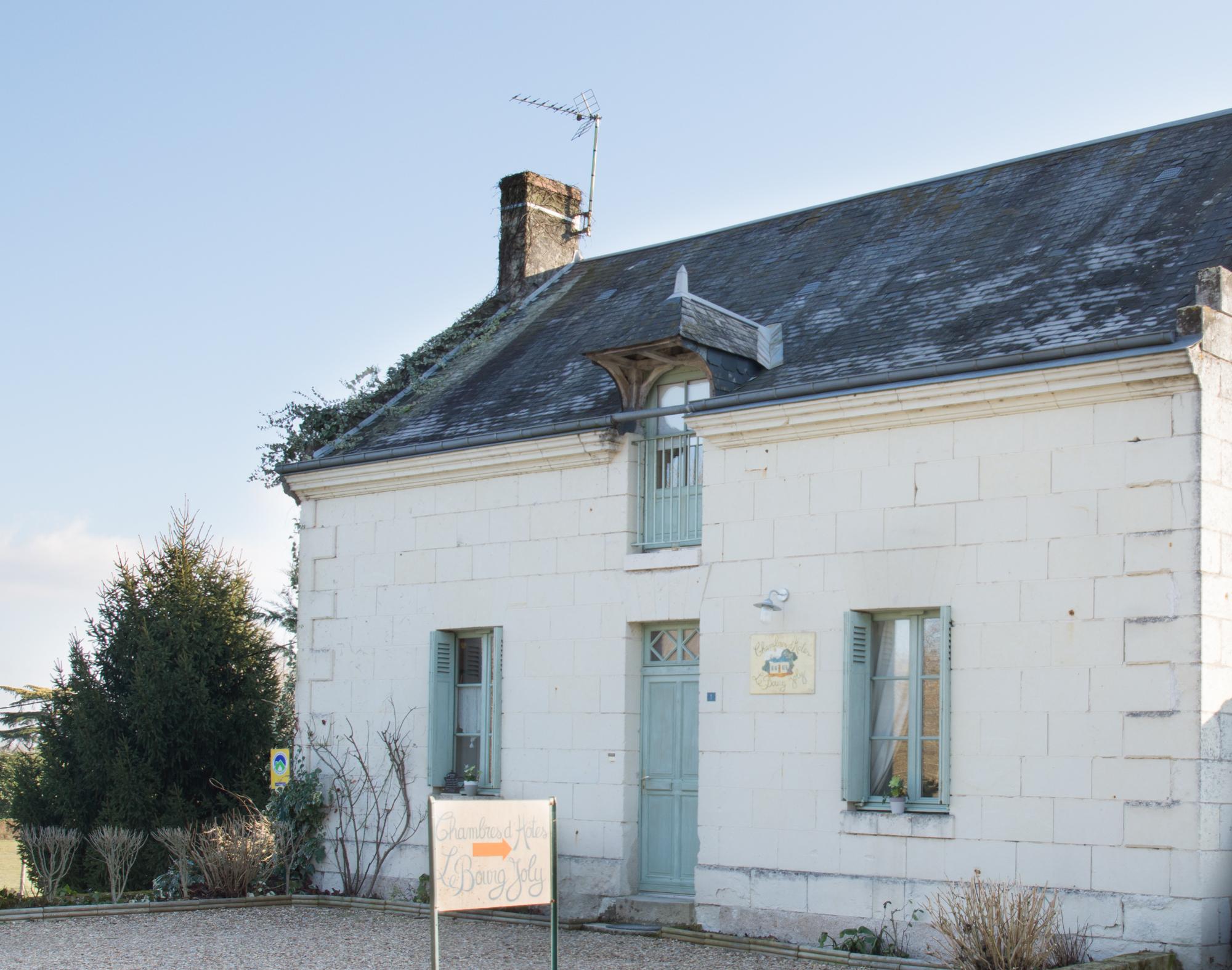 Le Bourg Joly, chambres d'hôtes à Rigny Ussé
